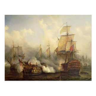 The Redoutable at Trafalgar, 21st October 1805 Postcard