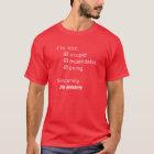 The Redshirt Proclamation T-Shirt