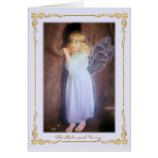 The Redwood Fairy - Card