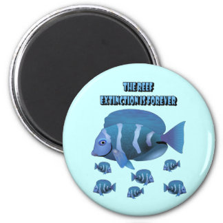 The Reef 2 Inch Round Magnet