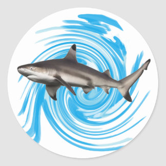 THE REEF KEEPER CLASSIC ROUND STICKER