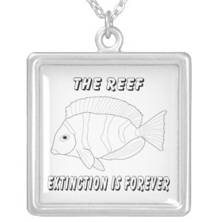 The Reef Silver Plated Necklace