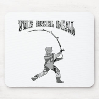 the reel deal mouse pad