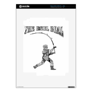 the reel deal skin for iPad 2