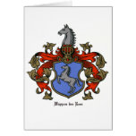 The Rees Coat of Arms Cards