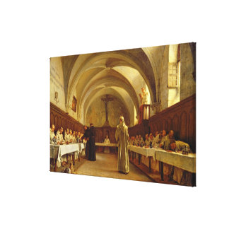 The Refectory Canvas Print