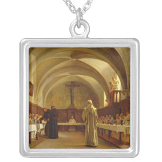 The Refectory Silver Plated Necklace