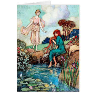 The Reflecting Pond - Card