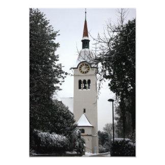 The Reformierte Kirche, Arlesheim, Switzerland Custom Invitations