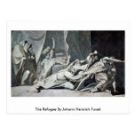 The Refugee By Johann Heinrich Fuseli Post Card