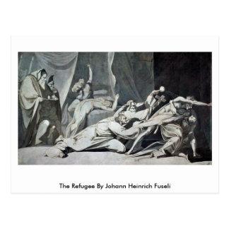 The Refugee By Johann Heinrich Fuseli Postcard