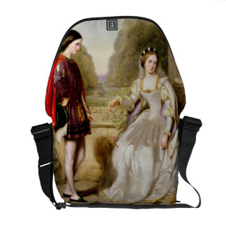 The Refusal (oil on canvas) Courier Bag