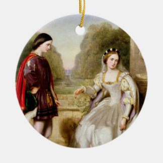 The Refusal (oil on canvas) Christmas Ornament