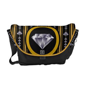 The Regal Diamond Messenger Bag