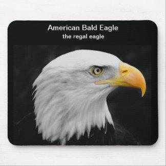 """""""The Regal Eagle"""" American Bald Eagle Mouse Pad"""