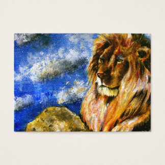 The Regal Lion ACEO Art Trading Cards
