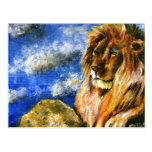 The Regal Lion Postcards