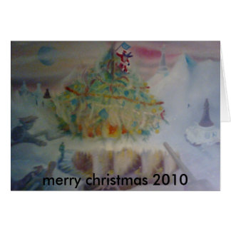 the regency's christmass, merry christmas 2010 card