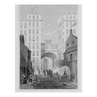 The Regent Bridge, Edinburgh Postcard