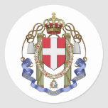 the Regia Aeronautica, Italy Classic Round Sticker