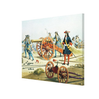 The Regiment of the King's Fusilliers Canvas Print