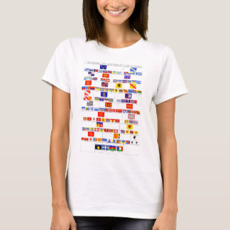 The Regional and Departmental Flags of France T-Shirt