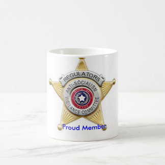 The Regulators Badge Mug