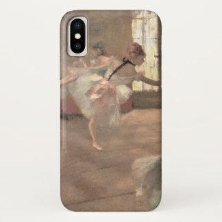 The Rehearsal by Edgar Degas, Vintage Ballet Art iPhone X Case