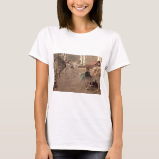 The Rehearsal by Edgar Degas, Vintage Ballet Art T-Shirt