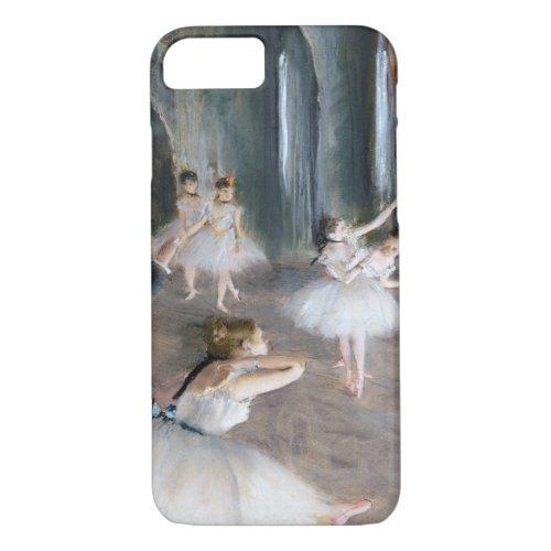 The Rehearsal Onstage, Edgar Degas Phone Case