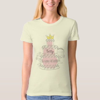 The reigning CAKE QUEEN T-Shirt