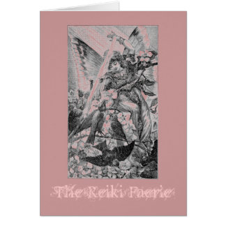 The Reiki Faerie Card