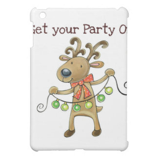 """THE REINDEER """"GET YOUR PARTY ON"""" CASE FOR THE iPad MINI"""