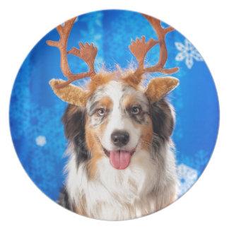 The Reindeer Melamine Plate