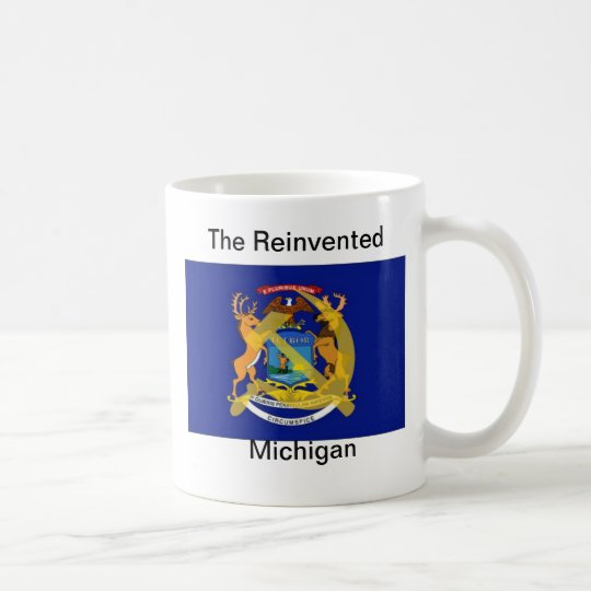 The Reinvented Michigan Coffee Mug