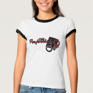 The Relationship Playbook Ladies Ringer T-shirt