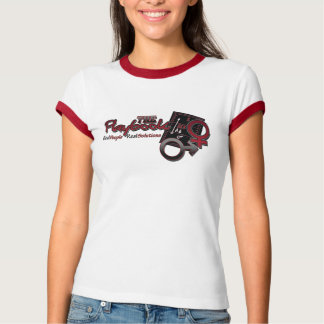 The Relationship Playbook Ladies Ringer Tee