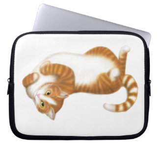 The Relaxed Tabby Cat Electronics Bag