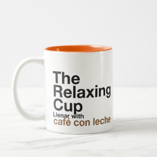 The Relaxing Cup Int Orange Mugs
