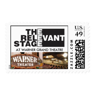 The Relevant Stage Postage Stamps