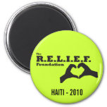 The Relief Foundation Fridge Magnets