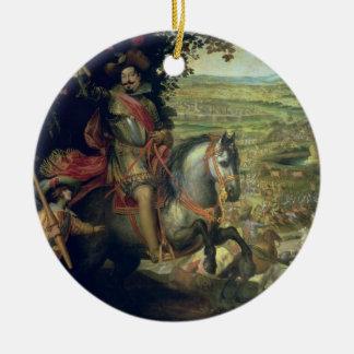 The Relief of Constance, 1633 Ceramic Ornament
