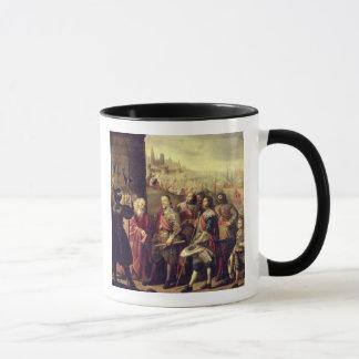 The Relief of Genoa, 1528, c.1634-35 (oil on canva Mug