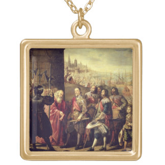 The Relief of Genoa, 1528, c.1634-35 (oil on canva Jewelry