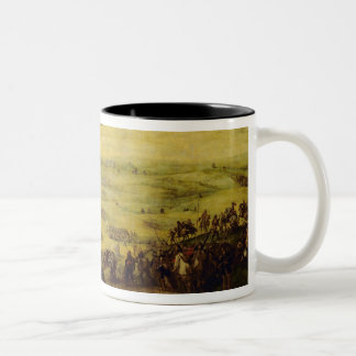 The Relief of the Fortress of Lerida Two-Tone Coffee Mug