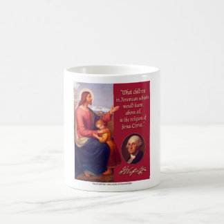 The Religion of Jesus Christ Classic White Coffee Mug