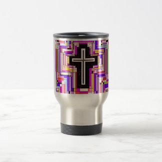 The Religious Christian Cross Travel Mug