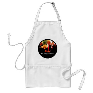 The Religious Wrong Adult Apron