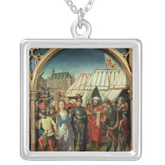 The Reliquary of St. Ursula, 1489 Silver Plated Necklace