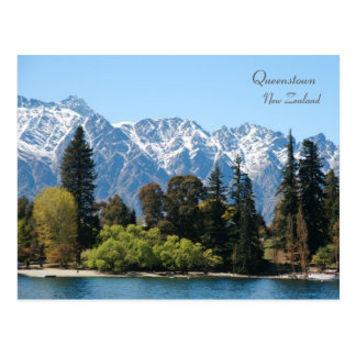 The Remarkables, Queenstown, New Zealand Postcard